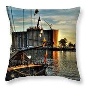 007 Uss Niagara 1813 Series Throw Pillow