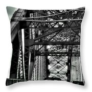 008 Grand Island Bridge Series Throw Pillow