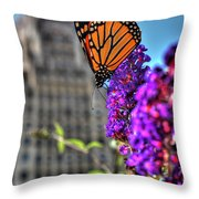 008 Making Things New Via The Butterfly Series Throw Pillow