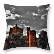 008 The 74th Regimental Armory In Buffalo New York Throw Pillow