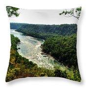 009 Niagara Gorge Trail Series  Throw Pillow
