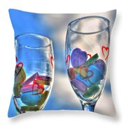 01 Love Is In The Air Throw Pillow