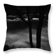 01 Niagara Falls Usa Rapids Series Throw Pillow