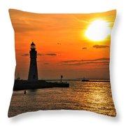 01 Sunset Series Throw Pillow