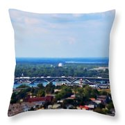 01 Toy Peace Bridge Throw Pillow