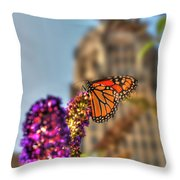 010 Making Things New Via The Butterfly Series Throw Pillow