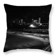 010 Niagara Falls Usa Rapids Series Throw Pillow