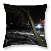 011 Niagara Falls Usa Rapids Series Throw Pillow