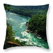 011 Niagara Gorge Trail Series  Throw Pillow