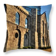 011 Wakening Architectural Dynamics Throw Pillow