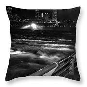 012 Niagara Falls Usa Rapids Series Throw Pillow
