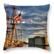 012 Uss Niagara 1813 Series Throw Pillow