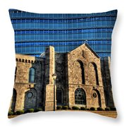 012 Wakening Architectural Dynamics Throw Pillow