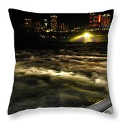 013 Niagara Falls Usa Rapids Series Throw Pillow