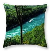 013 Niagara Gorge Trail Series  Throw Pillow