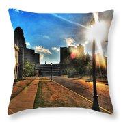 013 Wakening Architectural Dynamics Throw Pillow