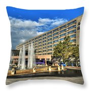 014 Wakening Architectural Dynamics Throw Pillow