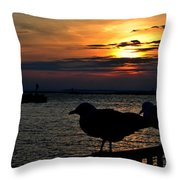 015 Sunset Series Throw Pillow