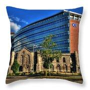 017 Wakening Architectural Dynamics Throw Pillow