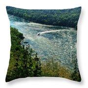 018 Niagara Gorge Trail Series  Throw Pillow