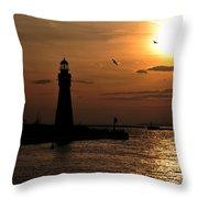 018 Sunset Series Throw Pillow