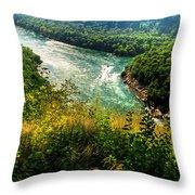 019 Niagara Gorge Trail Series  Throw Pillow