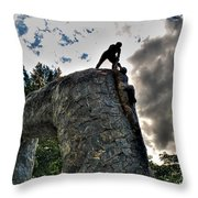 02 I'll Never Let Go Throw Pillow