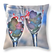 02 Love Is In The Air Throw Pillow