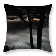 02 Niagara Falls Usa Rapids Series Throw Pillow