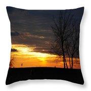 02 Sunset Throw Pillow