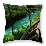 020 Niagara Gorge Trail Series  Throw Pillow