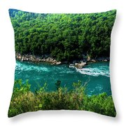022 Niagara Gorge Trail Series  Throw Pillow