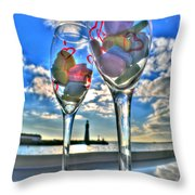 03 Love Is In The Air Throw Pillow