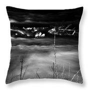03 Niagara Falls Usa Rapids Series Throw Pillow