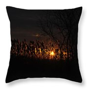 03 Sunset Throw Pillow