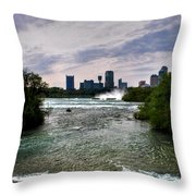 03 Three Sisters Island Throw Pillow