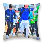 033 Shamrock Run Series Throw Pillow