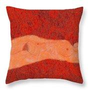 0358 Figurative Art Throw Pillow