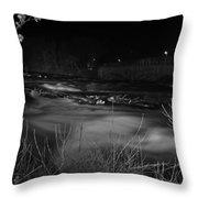 04 Niagara Falls Usa Rapids Series Throw Pillow