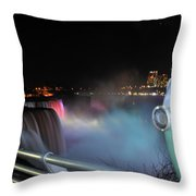 04 Niagara Falls Usa Series Throw Pillow