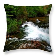 04 Three Sisters Island Throw Pillow