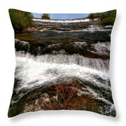 04 To The Three Sisters Island Throw Pillow