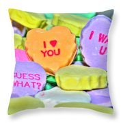 04 Valentines Series Throw Pillow