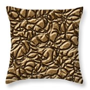 0443 Metals And Malleability Throw Pillow