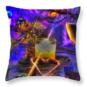 05 Holiday Photo Throw Pillow