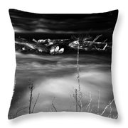 05 Niagara Falls Usa Rapids Series Throw Pillow