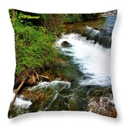 05 To The Three Sisters Island Throw Pillow