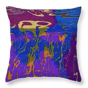 0527 Abstract Thought Throw Pillow