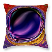 0538 Abstract Thought Throw Pillow
