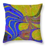 0565 Abstract Thought Throw Pillow
